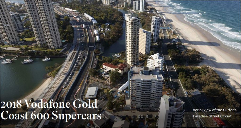 2018 Vodafone Gold Coast 600 Supercars